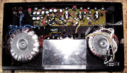 VICTOR CUSTOM TUBE 100 BASS AMP INSIDE