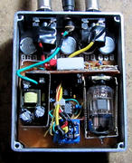 VICTOR CUSTOM ZERO III BASS TUBE OVERDRIVE INSIDE