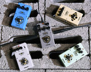 Yerasov Педали эффектов серии SCS: BB-10 Booster, DM-60 Delay, GT-10 Screamer, RV-10 Reverberator, VS-10 Distortion!